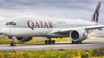 A7-ALU - Qatar Airways Airbus A350-900
