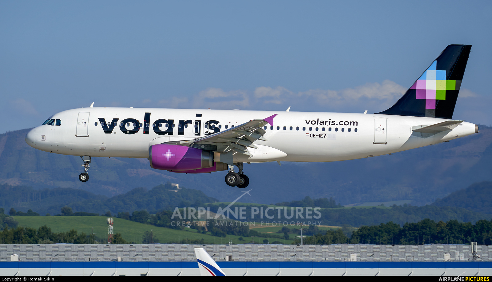 Volaris OE-IEV aircraft at Ostrava Mošnov