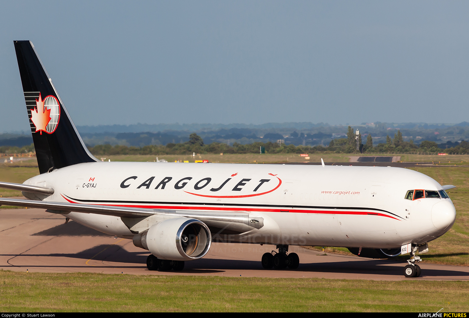 Cargojet Airways C-GYAJ aircraft at East Midlands