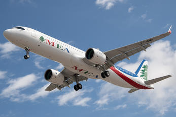 T7-ME1 - Middle East Airlines (MEA) Airbus A321 NEO
