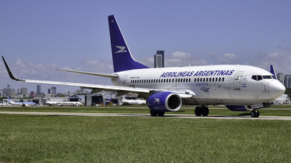 LV-CAD - Aerolineas Argentinas Boeing 737-700