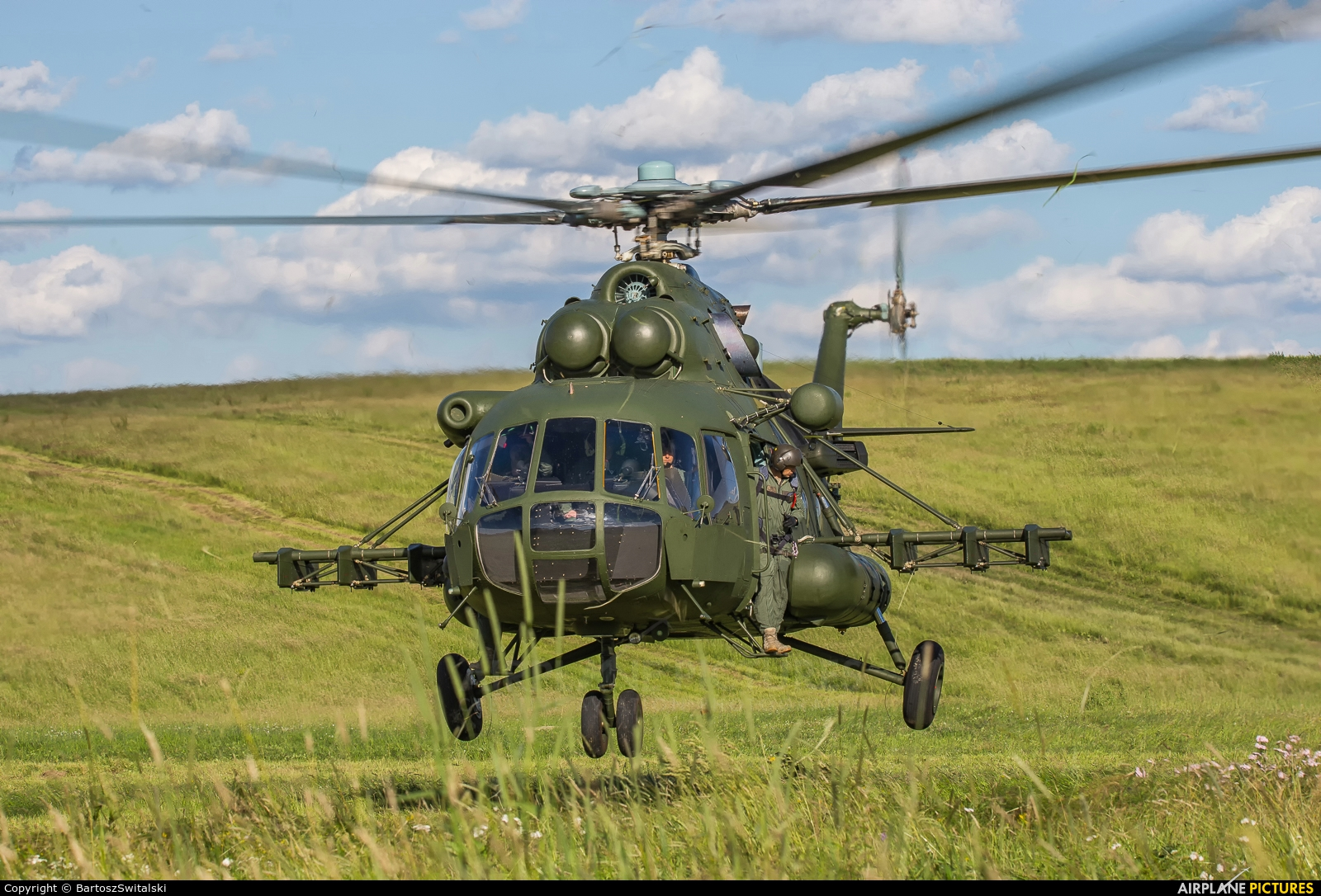 Poland- Air Force: Special Forces 6110 aircraft at Undisclosed location