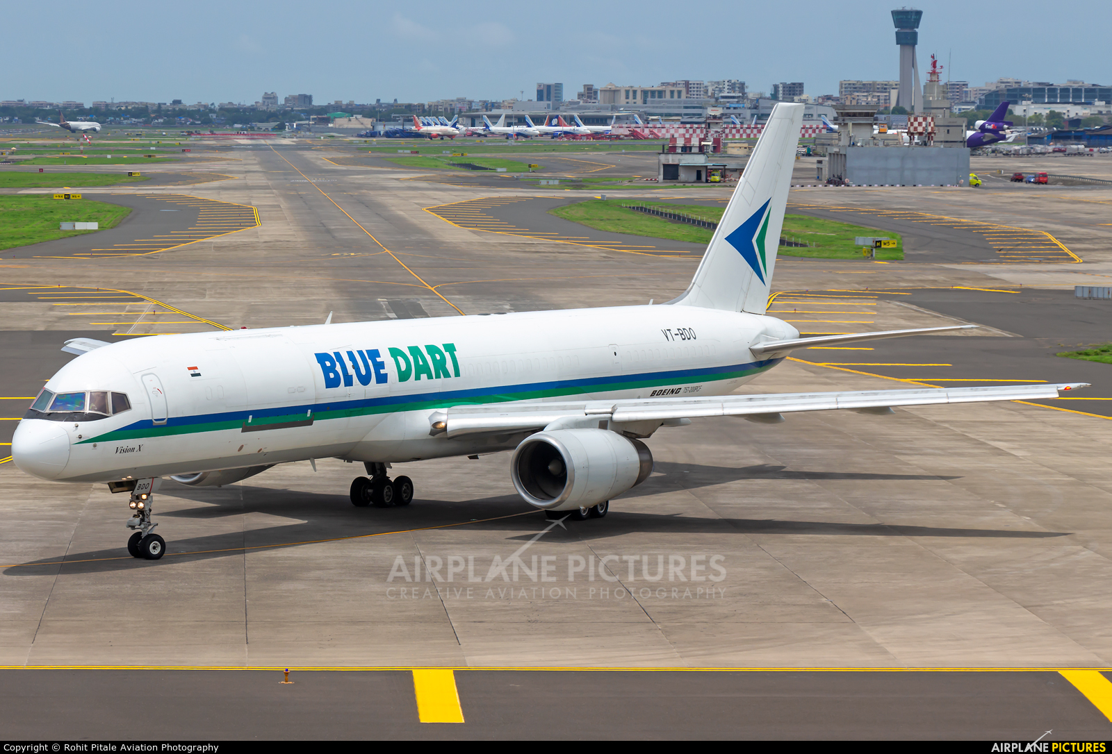 Blue Dart Aviation VT-BDO aircraft at Mumbai - Chhatrapati Shivaji Intl