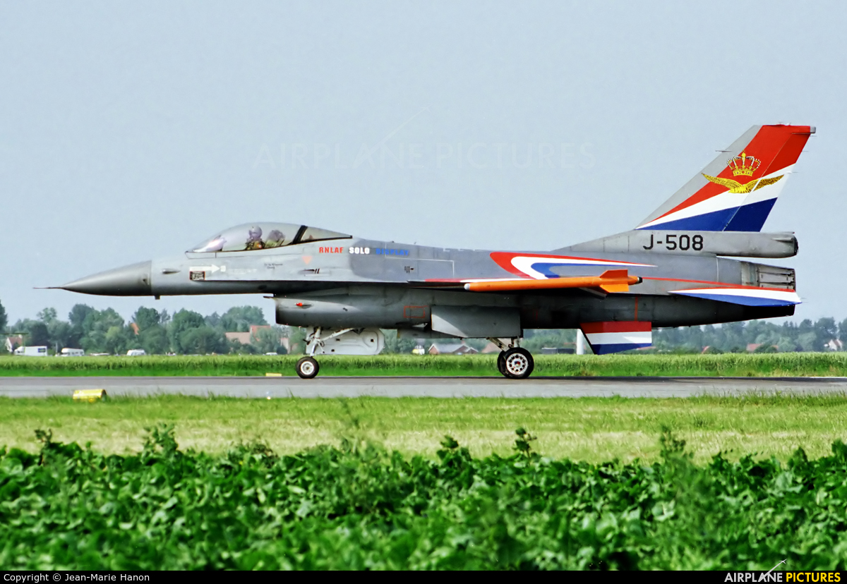 Netherlands - Air Force J-508 aircraft at Koksijde