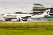 Inaugural flight of Iran Air to Manchester title=