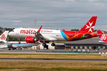 9H-NEC - Air Malta Airbus A320 NEO