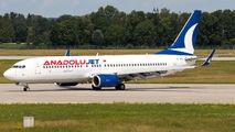TC-JFH - AnadoluJet Boeing 737-800 aircraft
