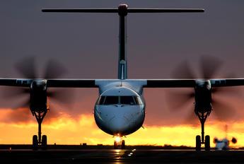 LX-LGF - Luxair de Havilland Canada DHC-8-400Q / Bombardier Q400