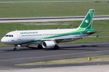 YI-ARD - Iraqi Airways Airbus A320
