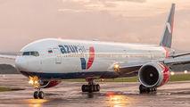 Azur Air Boeing 777 visited San Jose title=
