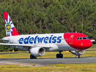 HB-JJN - Edelweiss Airbus A320