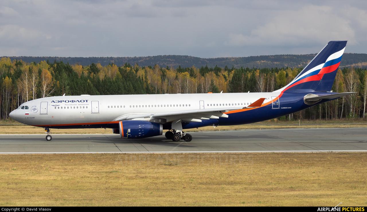 Aeroflot VP-BLY aircraft at Krasnoyarsk - Yemelyanovo