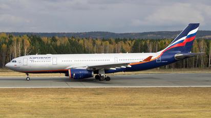 VP-BLY - Aeroflot Airbus A330-200