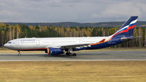 VP-BLY - Aeroflot Airbus A330-200 aircraft