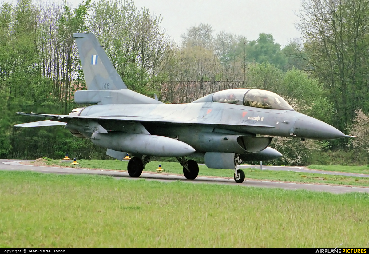 Greece - Hellenic Air Force 146 aircraft at Florennes