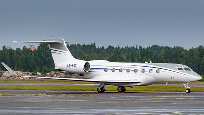 LX-RAY - Global Jet Luxembourg Gulfstream Aerospace G650, G650ER