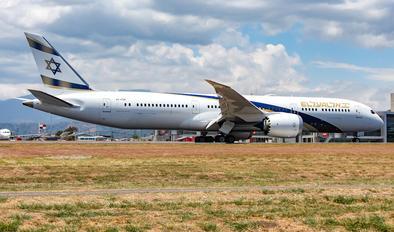 4X-EDM - El Al Israel Airlines Boeing 787-9 Dreamliner