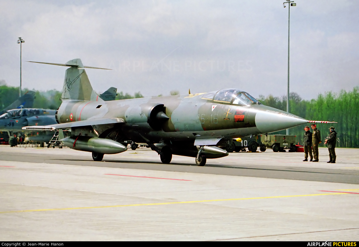 Italy - Air Force MM6934 aircraft at Florennes