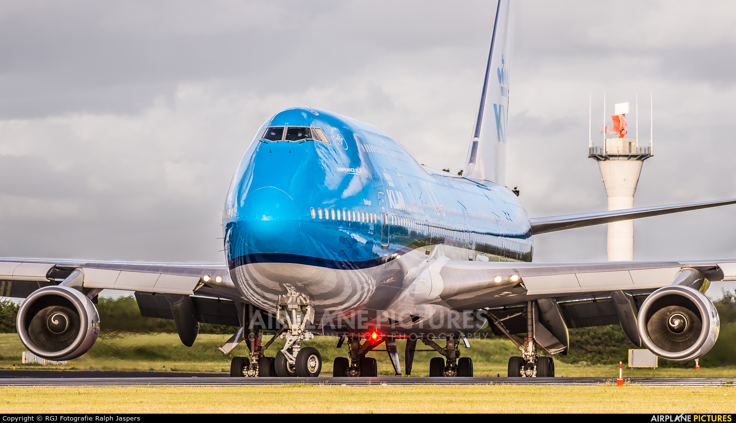 KLM PH-BFT aircraft at Amsterdam - Schiphol