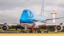 PH-BFT - KLM Boeing 747-400 aircraft