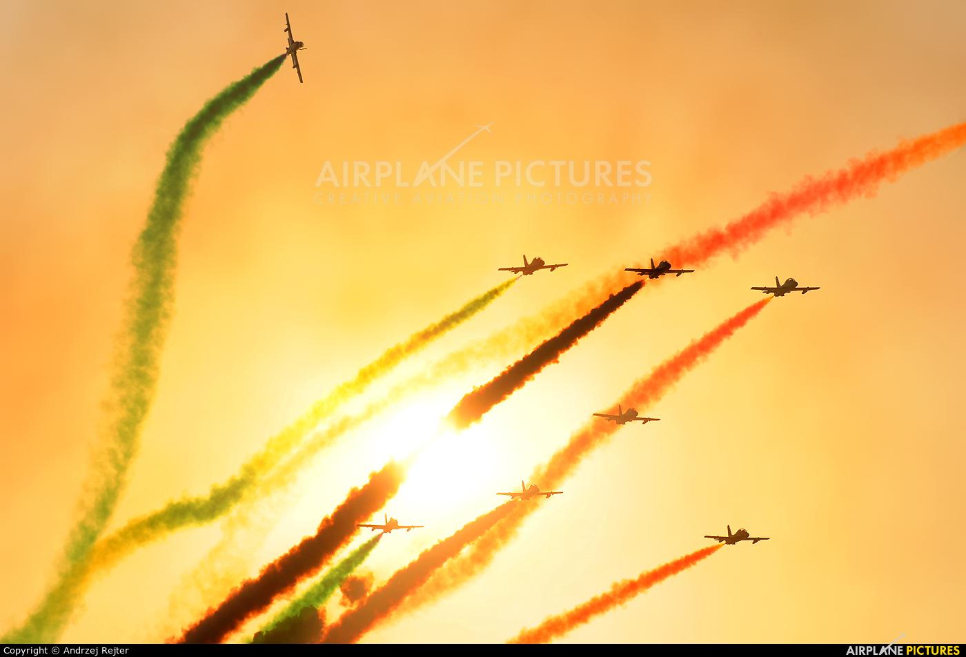 "Italy - Air Force ""Frecce Tricolori"" MM54485 aircraft at Radom - Sadków"