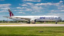 A7-BAF - Qatar Airways Boeing 777-300ER aircraft