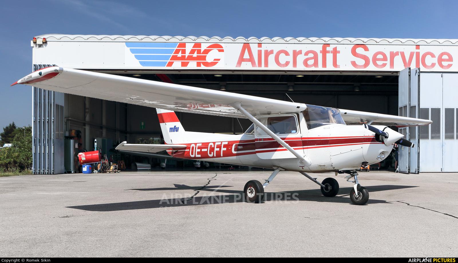 Motorfluggruppe Zürich OE-CFF aircraft at Bad Vöslau