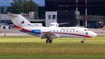 Czech Air Force Yak40 visited Kraków title=