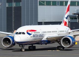G-ZBJM - British Airways Boeing 787-8 Dreamliner