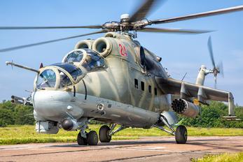 RF-93087 - Russia - Navy Mil Mi-24P