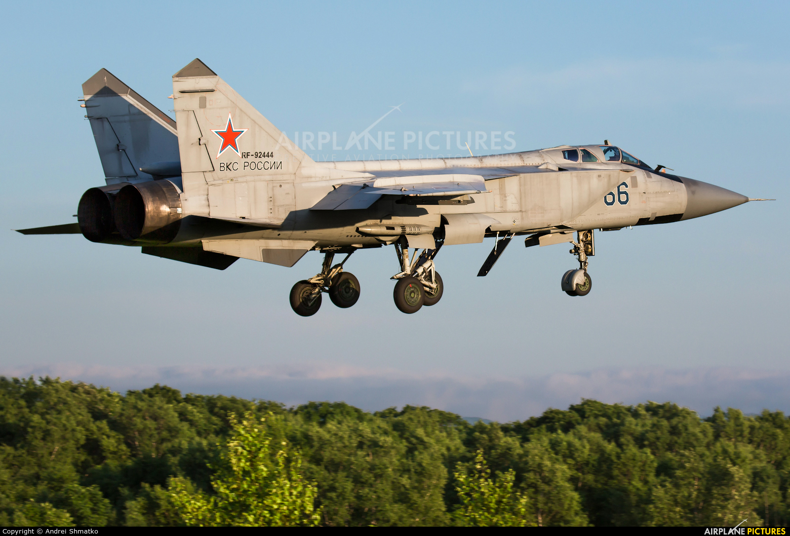 Russia - Air Force RF-92444 aircraft at Undisclosed Location