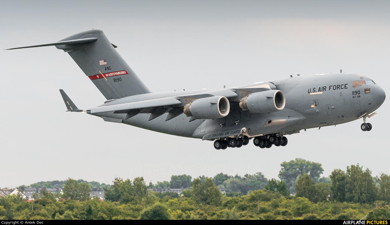 USA - Air Force 89-1190 aircraft at Wrocław - Copernicus