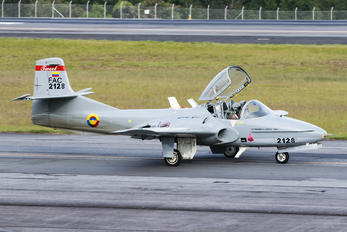 FAC2128 - Colombia - Air Force Cessna T-37B Tweety Bird