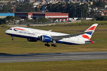 G-ZBJE - British Airways Boeing 787-8 Dreamliner