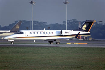 9V-ATJ - Singapore Airlines Learjet 45