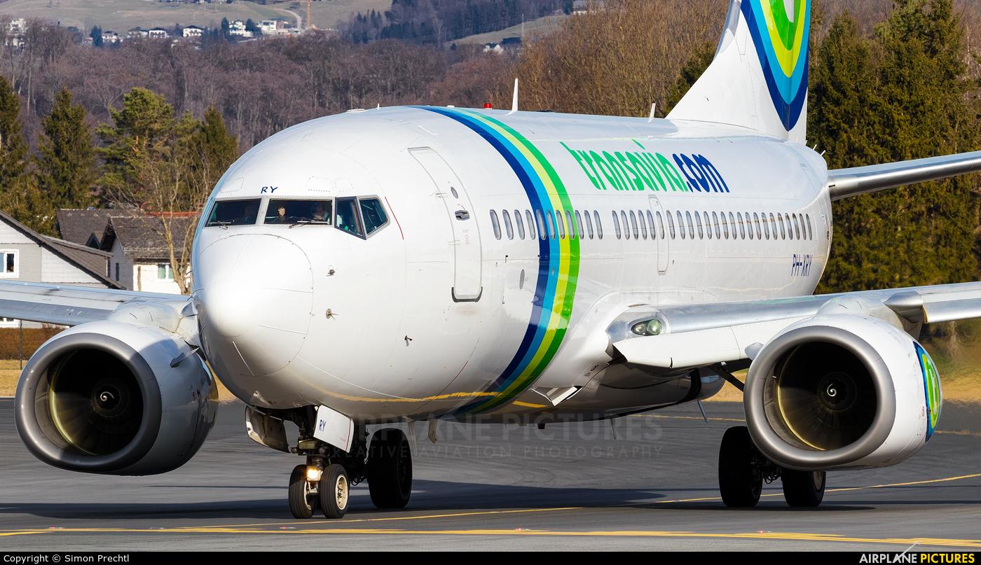 Transavia PH-XRY aircraft at Salzburg