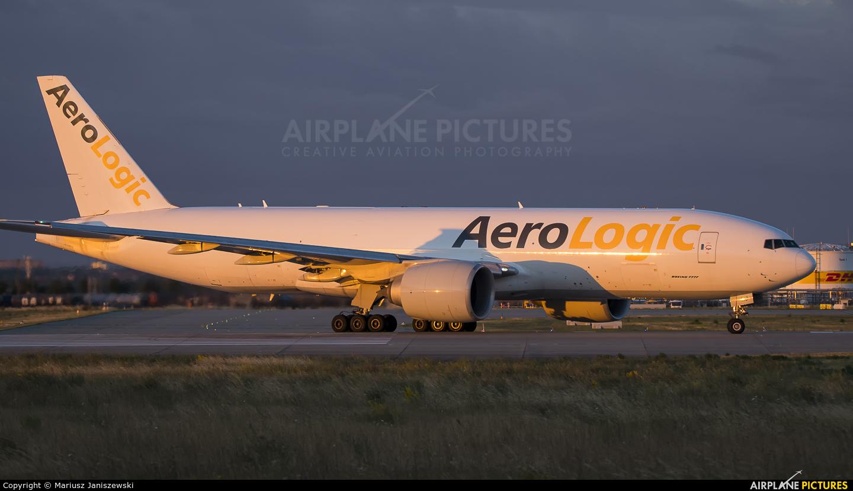 AeroLogic D-AALJ aircraft at Leipzig - Halle