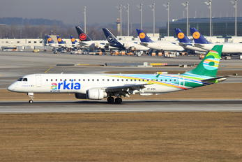 4X-EMA - Arkia Embraer ERJ-195 (190-200)