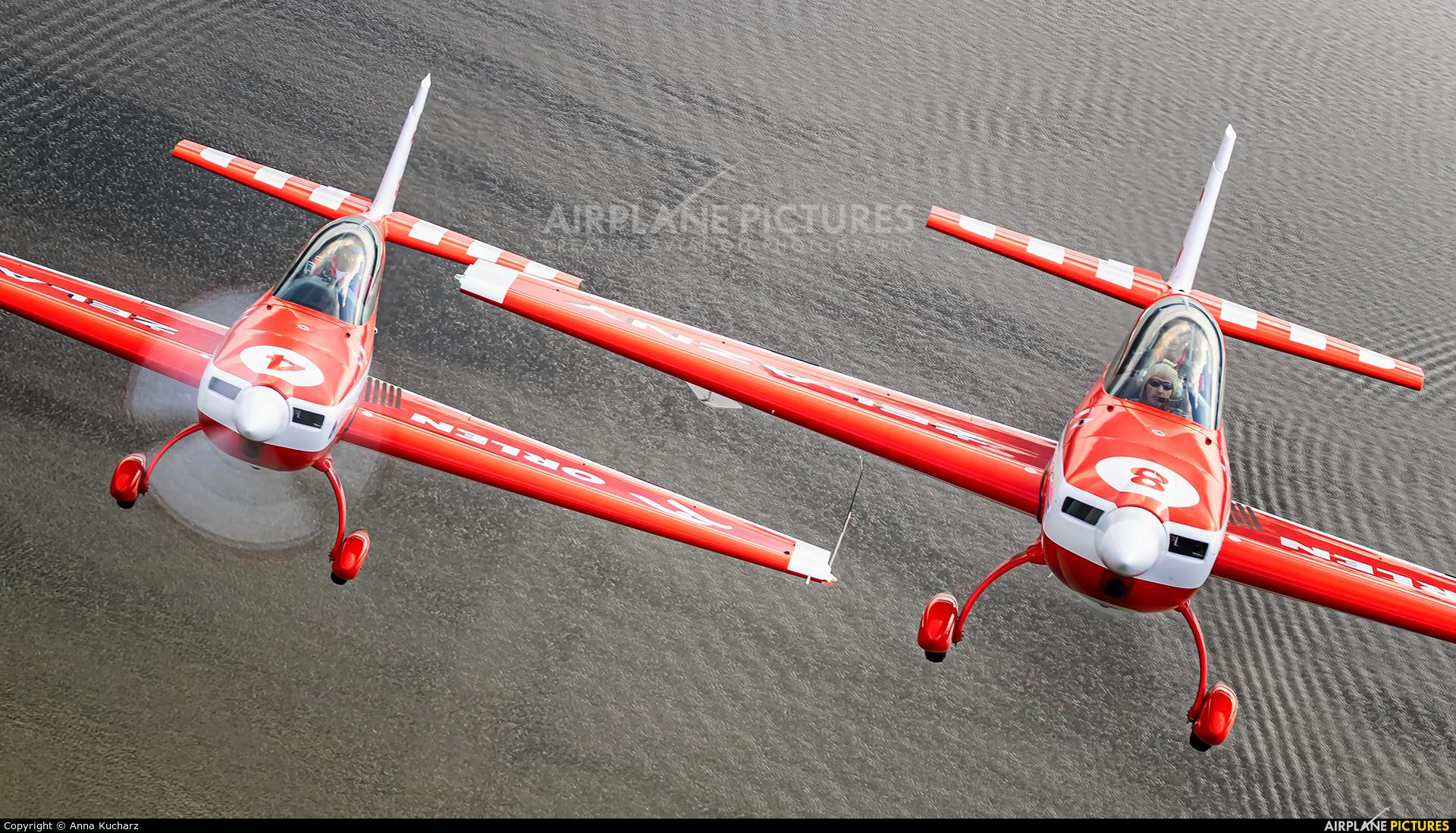 Grupa Akrobacyjna Żelazny - Acrobatic Group SP-AUP aircraft at Piotrków Trybunalski