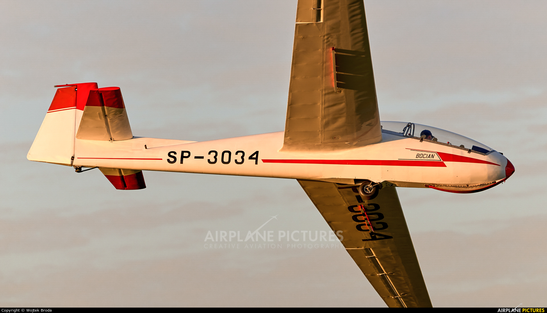 Aeroklub Wroclawski SP-3034 aircraft at Wrocław - Szymanów