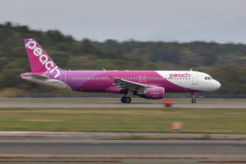 JA806P - Peach Aviation Airbus A320