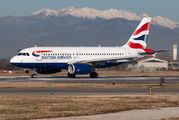 G-DBCG - British Airways Airbus A319 aircraft