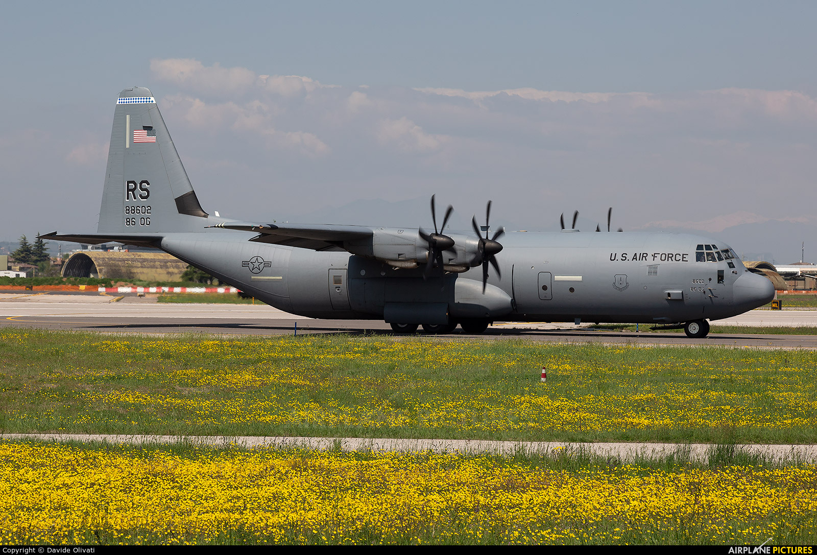 USA - Air Force 08-8602 aircraft at Verona - Villafranca