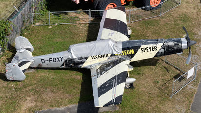 D-FOXY - Private EKW C-3605 Schlepp