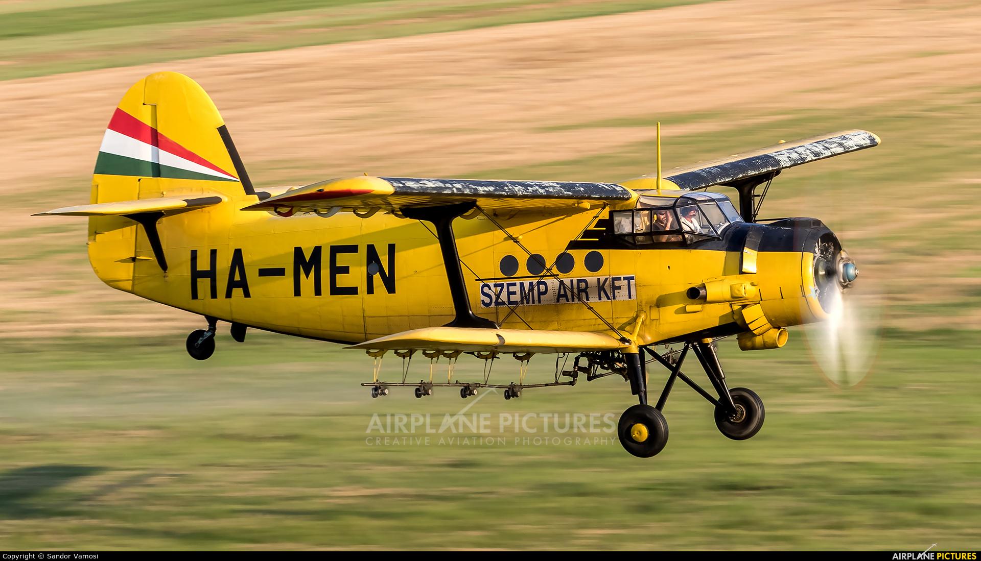 Private HA-MEN aircraft at Off Airport - Hungary