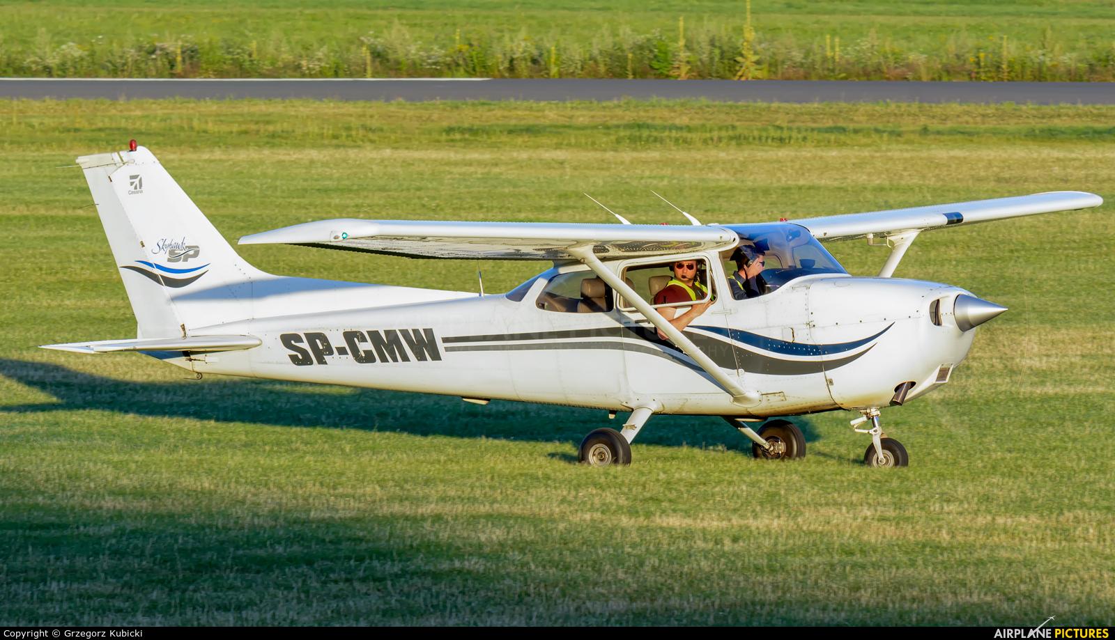Aeroklub Śląski SP-CMW aircraft at Katowice Muchowiec