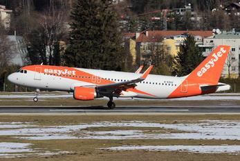 G-EZGZ - easyJet Airbus A320
