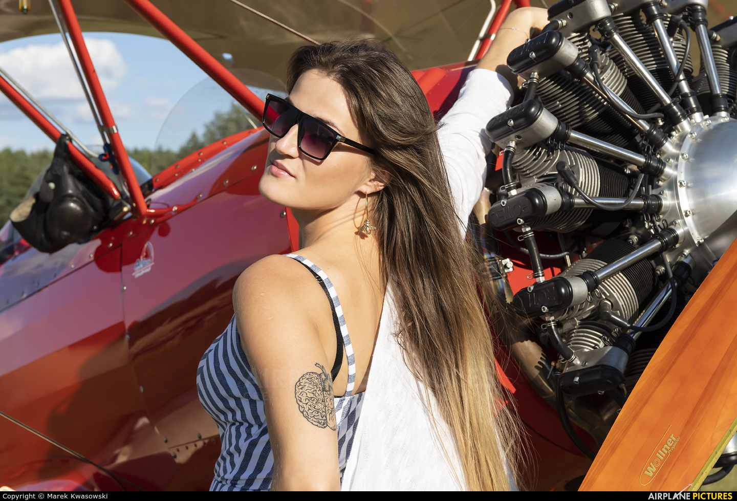 - Aviation Glamour SP-YHW aircraft at Off Airport - Poland