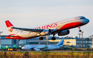 VP-BVO - Red Wings Airbus A321 aircraft