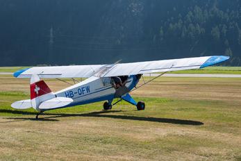 HB-OFW - Private Piper J3 Cub